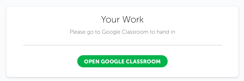 Submitting an assignment on Google Classroom